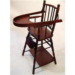 BE 20th Century Childs High Chair #2354008