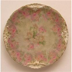 Royal Bayreuth 3 Color Roses 7 1/2 in. Plate #2354044