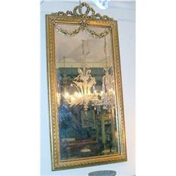 Fantastic Fine original French mirror carved #2367485