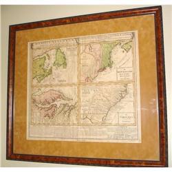 18th century, 1700s Map of British America, US #2367489