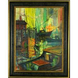 Boat Dock by Robert MacIsaac #2367498