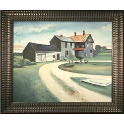 Contemporary Farmhouse Landscape, Original #2367506