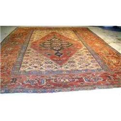 12.00 x 15.08 Antique Bakhshayesh Persian #2367524