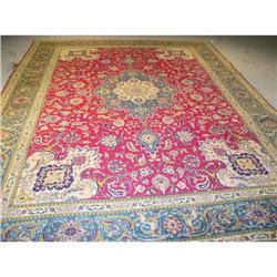 persian rug, 100% wool ,Tabriz #2367525