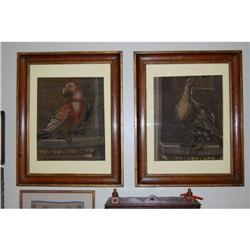 Antique Aubusson Tapestry Framed Fragments 1800#2390539