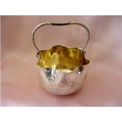 Whiting Aesthetic Sterling Basket #2390552