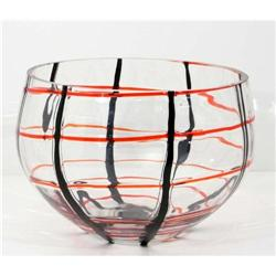 Modern Art Decorative Glass Bowl #2390563
