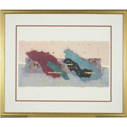 Strickland Dynamic  Abstract Modern Lithograph #2390579