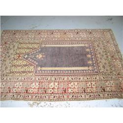 Turkish, 100% wool , Prayer rug #2390589