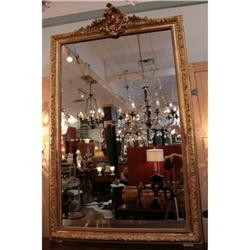 French Antique Gold Leafed Mirror #2390609
