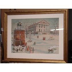 WATERCOLOR BY DAY LOWRY OF RICHMOND, VA. #2390629