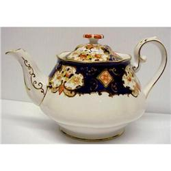 "Royal Albert ""DERBY"" TEAPOT Tea Pot #2390631"