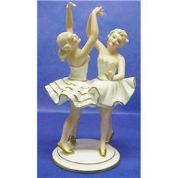 DOUBLE BAVARIAN  Figurine - Ballerinas #2390636