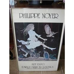 Vintage Print of Philip Noyer girl on a bike!  #2390649