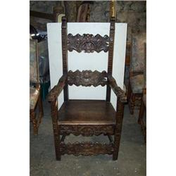 19th Century Gothic Armchair #2390654