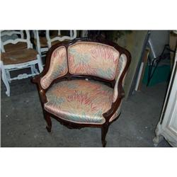 19th C. small french  bergere #2390657