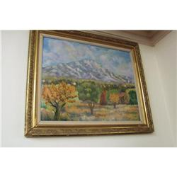 "French Painting ""Sainte Victoire"" #2390664"