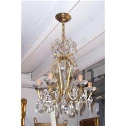 Crystal chandelier C.1940 #2390668