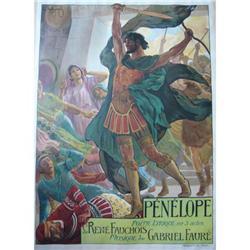 VINTAGE Poster - ROCHEGROSSE - Penelope #2390682