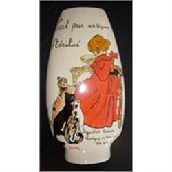 Handpainted Belle Epoque Style Vase #2390684