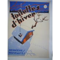 Vintage Poster - Toilettes d'Hiver #2390685