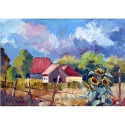 """Majmirovtsy"" oil in impressionism style. #2390687"