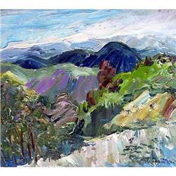 """Shumadija an etude"" oil in impressionism  #2390693"