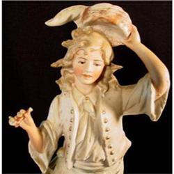 Antique Unger, Schneider  Rococo Bisque Figure #2390717