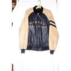 Vintage  Leather Harley Davidson Jacket #2390719