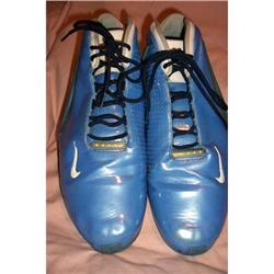 Vintage Nike Blue Zoomair Flight Sneakers #2390720