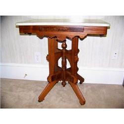 Rectangular East Lake Walnut Table with With #2390722