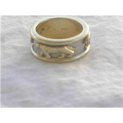 14kt  Yellow Gold Panther Band #2390726