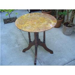 Victorian Center Table w/marble top #2390727
