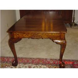 Chippendale style Oak Dining Tble #2390729