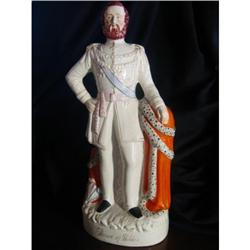"""Victorian Staffordshire, Prince of Wales, 17.5""""#2390733"""