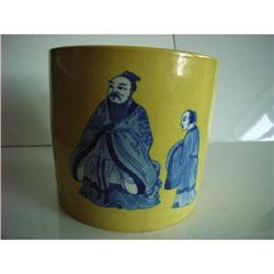 Chinese   porcelain brushpot #2390737