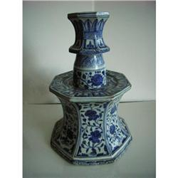 Chinese   porcelain candlestick #2390738