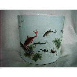 chinese porcelain brushpot #2390743
