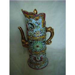 chinese porcelain teapot #2390749