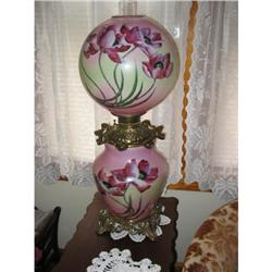 HAND PAINTED  GWTW LAMP #2390766
