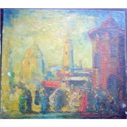 Marvellous European XX Century Painting, TETUAN#2390803