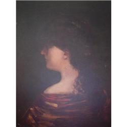 Pier Gilardi Oil Painting, Señora Contemplando #2390807