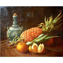 "Dumolin Louis Painting, ""Fruits"" #2390808"