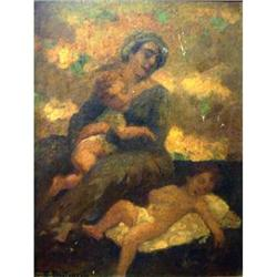 Magnificent At. Mario Betinelli Oil #2390821