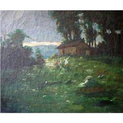 LAWSON Cecil Gordon Oil Painting House in the #2390826