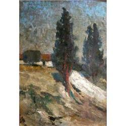 Attrib. to Caors Oil Painting Italian School #2390827