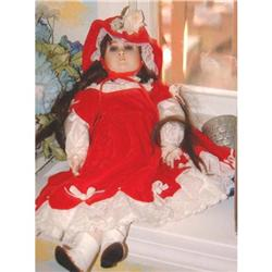 Jennie's Lady Jennifer Porcelain Doll by Edna #2390843
