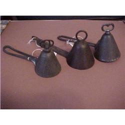 Set 3 Antique Ice Cream Scoops 1890's! #2390855