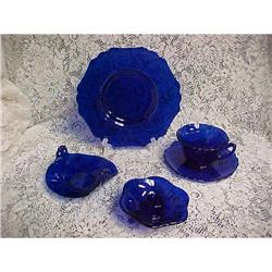 Cobalt Blue Dishes, Cambridge Glass #3135 #2390860