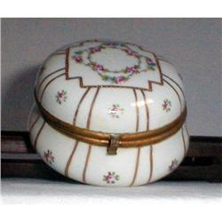 PORCELAIN BOX FRENCH, NEOCLASSICAL, 18th #2390889